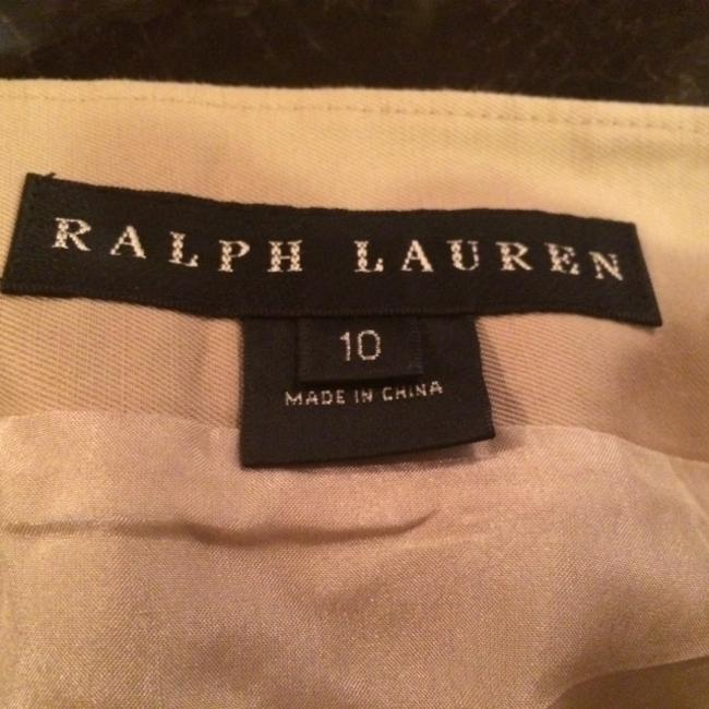Ralph Lauren Blacks Navy White Summer Fall Spring Traditional Classic Machine Washable Dry Clean Skirt khaki
