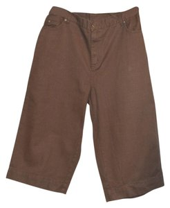 Roaman's Wide Leg Pants Brown