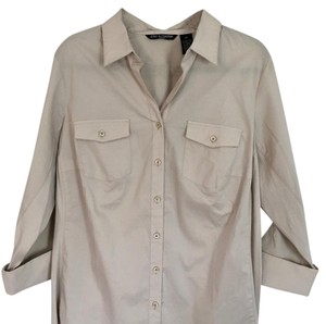 Zac & Rachel Button Down Shirt Khaki/tan