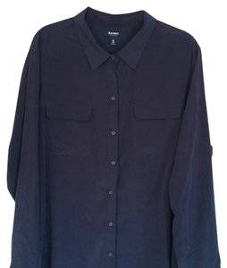 Old Navy Button Down Shirt Navy