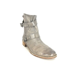 Paul Green Ankle Moto Gray Boots