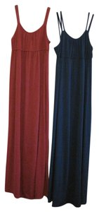 Blue and Red Maxi Dress by Mossimo Supply Co.