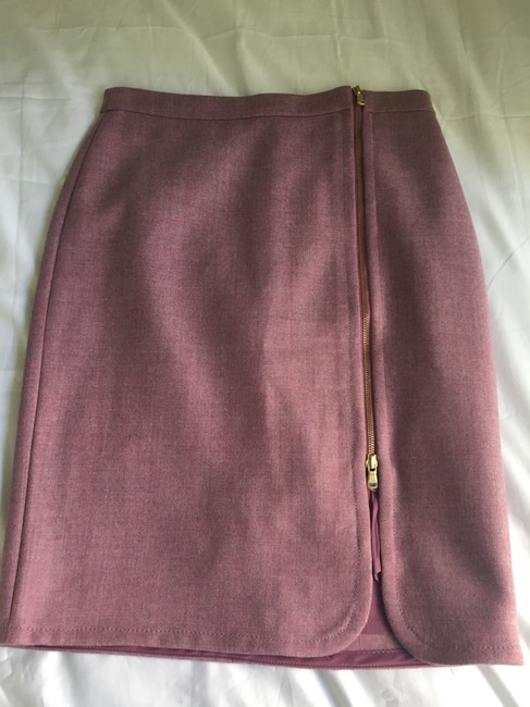 J.Crew Pencil Wool Skirt Rose Pink Image 2
