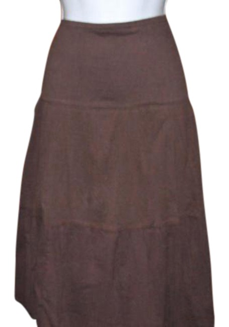 Preload https://img-static.tradesy.com/item/21147507/brown-tiered-broomstick-style-4324-midi-skirt-size-14-l-34-0-1-650-650.jpg