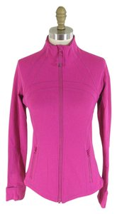 Lululemon 8 - LULULEMON Boom Pink Zip Up Fitted Vented Back DEFINE Jacket NEW