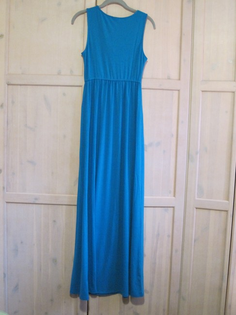 Blue Maxi Dress by Mossimo Supply Co. Image 1