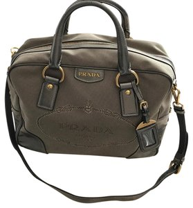 Prada Satchel in Metallic