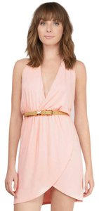 Tobi short dress Blush on Tradesy