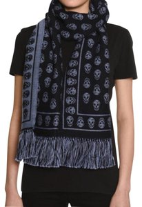 RESERVED RESERVED!!!Alexander Mcqueen wool skull scarf