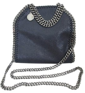 Stella McCartney Faux Leather Chain Tote Mini Cross Body Bag