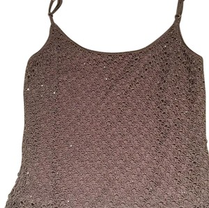 Carmen Marc Valvo Top Ash light purple