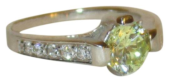 Preload https://img-static.tradesy.com/item/21147890/green-925-sterling-silver-12ctw-round-genuine-peridot-topaz-accents-ring-0-1-540-540.jpg