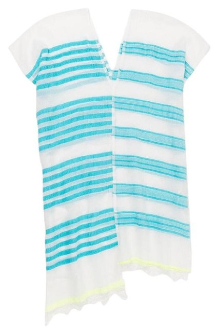 Preload https://img-static.tradesy.com/item/21147918/lemlem-blue-yellow-and-white-split-beach-cover-up-tunic-size-os-one-size-0-0-650-650.jpg