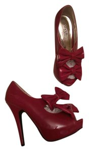 Charlotte Russe Party Red Pumps