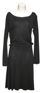 James Perse short dress Black Blouson Rib Date Night Night Out on Tradesy