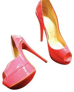 Christian Louboutin Hot Pink Platforms