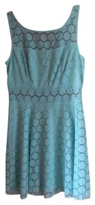 Trixxi short dress Mint Green Lace on Tradesy