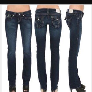 True Religion Flap Pockets Straight Leg Jeans