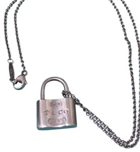 Tiffany & Co. locket necklace