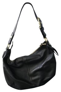 Coach Leather Slouchy Hobo Bag