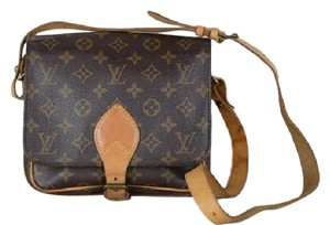 Louis Vuitton Cartouchiere Monogram Shoulder Bag