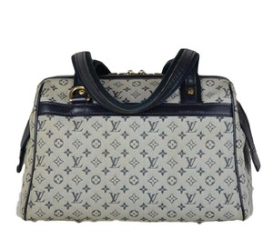 Louis Vuitton Josephine Monogram Tote in Blue