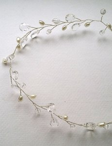 Silver Band Hilary Hair Accessory