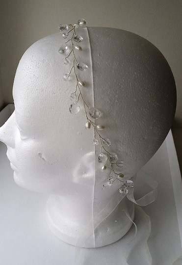 Silver Band Hilary Hair Accessory Image 4