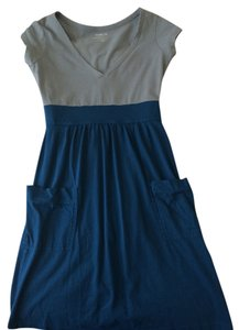 Old Navy short dress Grey / Teal on Tradesy