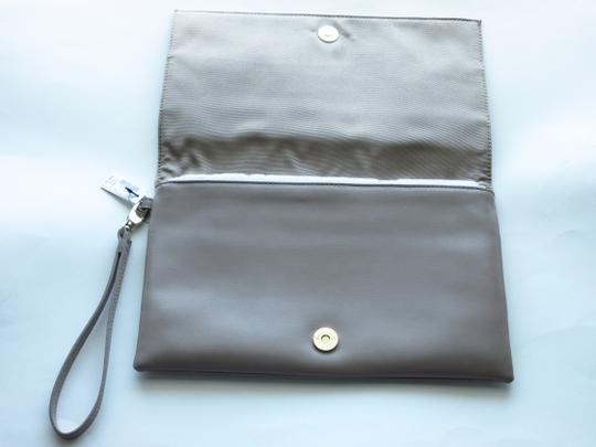 White House   Black Market Taupe Clutch Image 2