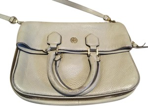 Tory Burch Leather Classic Textured Geniune Cross Body Bag