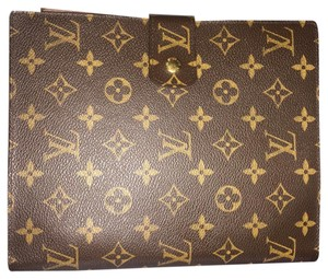Louis Vuitton Agenda GM Large Notebook Cover Address Book Monogram RARE!