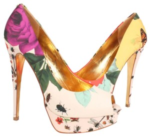 Ted Baker multi, floral Platforms