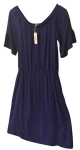 Charming Charlie short dress royal blue on Tradesy