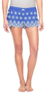 Juicy Couture Eyelet Pajama Mini Mini/Short Shorts Blue