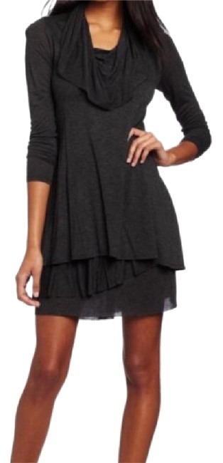 Preload https://img-static.tradesy.com/item/21149057/charcoal-mid-length-short-casual-dress-size-12-l-0-1-650-650.jpg