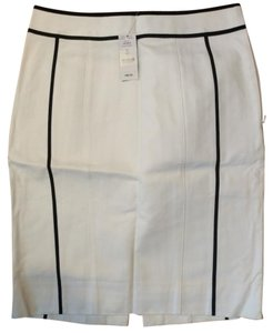 White House | Black Market Skirt White and black