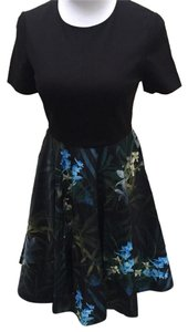 Ted Baker Floral Fit And Flare Dress