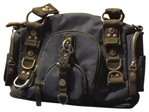George Gina & Lucy Satchel in blue grey