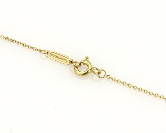 Tiffany & Co. Somerset Diamonds 18k Yellow Gold Mesh Long Pendant Necklace Image 3