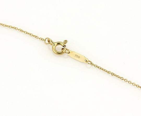 Tiffany & Co. Somerset Diamonds 18k Yellow Gold Mesh Long Pendant Necklace Image 4