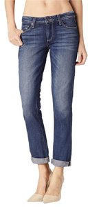 Paige Denim Boyfriend Cut Jeans-Medium Wash