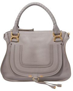 Chloé Classic Marcie Iconic New Tote in Gray