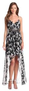 black and white Maxi Dress by Max and Cleo