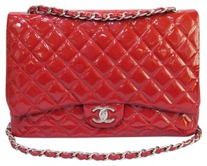 Chanel Vernis Maxi Cf Shoulder Bag