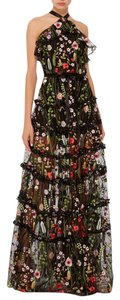 Alexis Floral Luxury Designer Embroidered Gown Dress