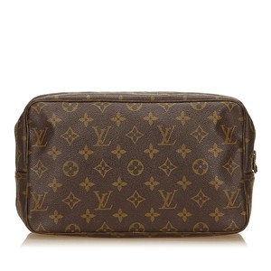 Louis Vuitton 7clvpo001 Brown Clutch