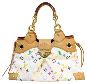 Louis Vuitton Lv Ursula Canvas Tote in white
