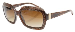 Chanel Chanel 5155 Rectangular Brown Mesh Lace 3D Sunglasses