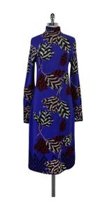 Marc by Marc Jacobs short dress Prussian Mareika Tulip Intarsia on Tradesy